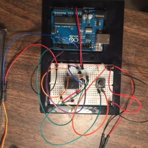 Arduino wired to button and relay